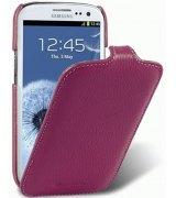 Кожаный чехол Melkco Flip (JT) для Samsung Galaxy S3 mini I8190 Purple
