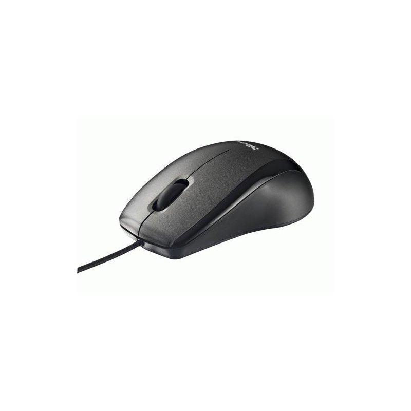 Мышь компьютерная Trust Carve USB Optical Mouse Black