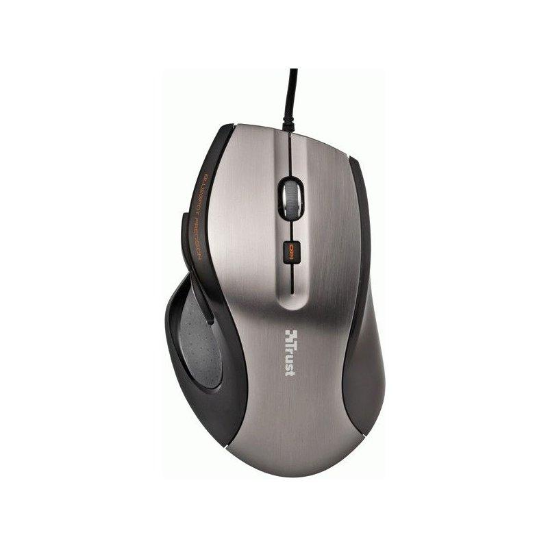Мышь компьютерная Trust MaxTrack Mouse BlueSpot