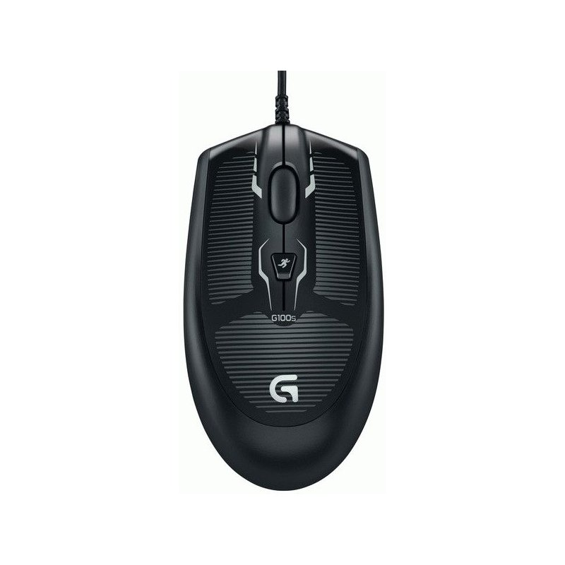 Мышь компьютерная Logitech Optical Gaming Mouse G100s Black