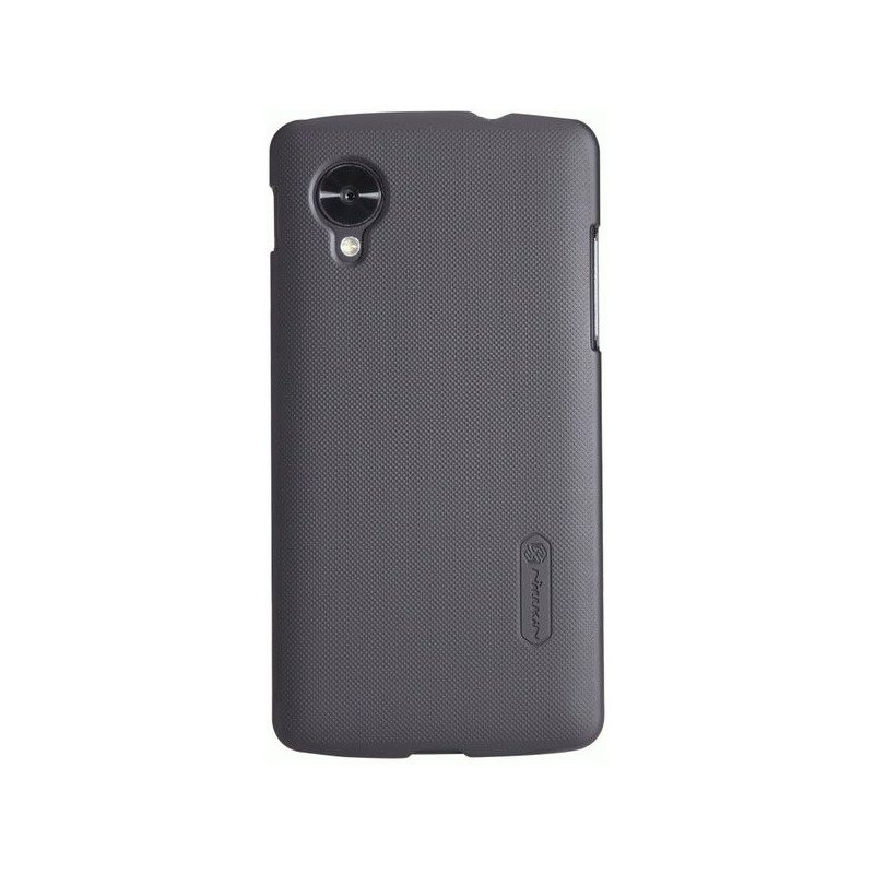 Пластиковая накладка Nillkin Super Frosted Shield для LG Google Nexus 5 Black