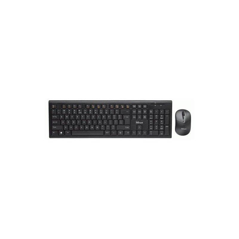 Комплект Trust Nola Wireless Keyboard with mouse