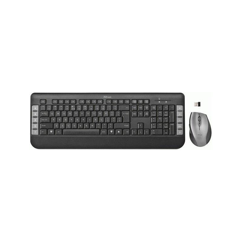 Комплект Trust Tecla Wireless Multimedia Keyboard & Mouse