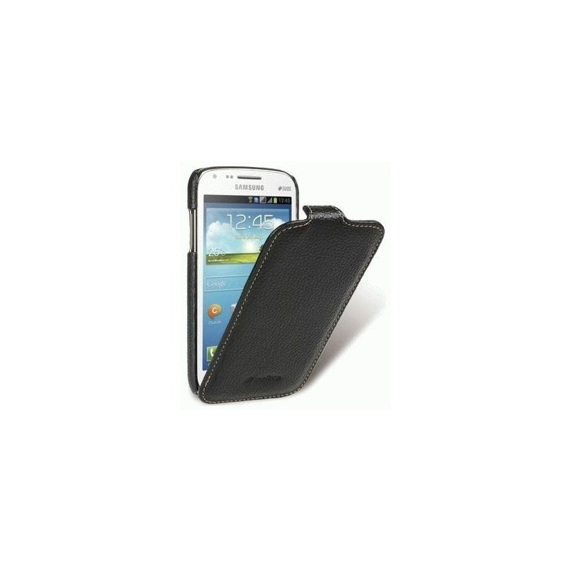 Кожаный чехол Melkco Flip (JT) для Samsung Galaxy Core i8262 Black