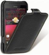 Кожаный чехол Melkco Flip (JT) для HTC Desire 200 Black