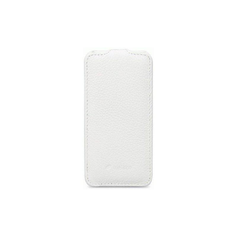 Кожаный чехол Melkco Flip (JT) для HTC Desire 600 White