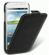 Кожаный чехол Melkco Flip (JT) для Samsung Galaxy Win i8552 Black