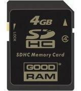 Карта памяти GOODRAM SDHC 4 GB Class 4