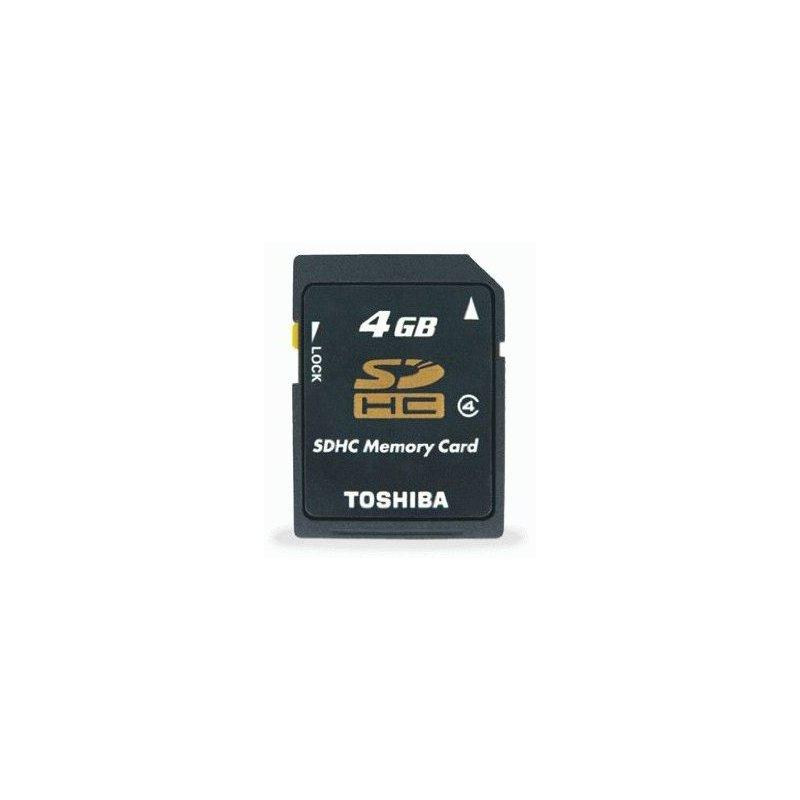 Карта памяти TOSHIBA SDHC 4 GB Class 4