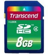 Карта памяти Transcend SDHC 8 GB Class 4