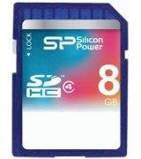 Карта памяти Silicon Power SDHC 8 GB Class 4