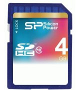 Карта памяти Silicon Power SDHC 4 GB Class 10