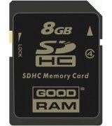 Карта памяти GOODRAM SDHC 8 GB Class 4