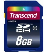 Карта памяти Transcend SDHC 8 GB Class 10