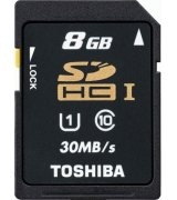 Карта памяти TOSHIBA SDHC 8 GB Class 10 UHS-I