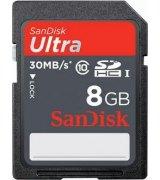 Карта памяти Sandisk SDHC Ultra 8 GB Class 10