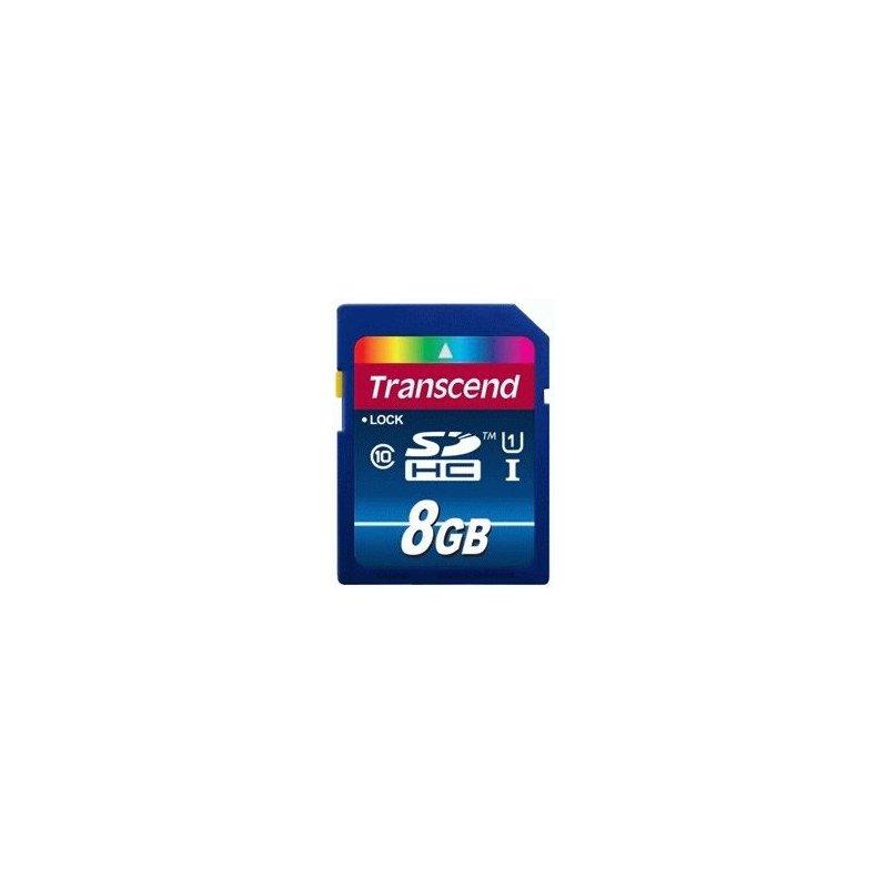 Карта памяти Transcend SDHC 8 GB Class 10 UHS-I Premium (X300)