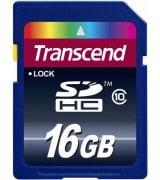 Карта памяти Transcend SDHC 16 GB Class 10