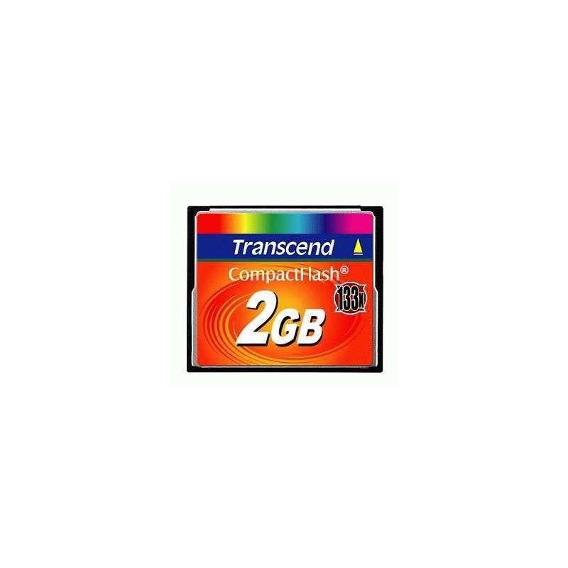 Карта памяти Transcend Compact Flash 2 GB (X133) New