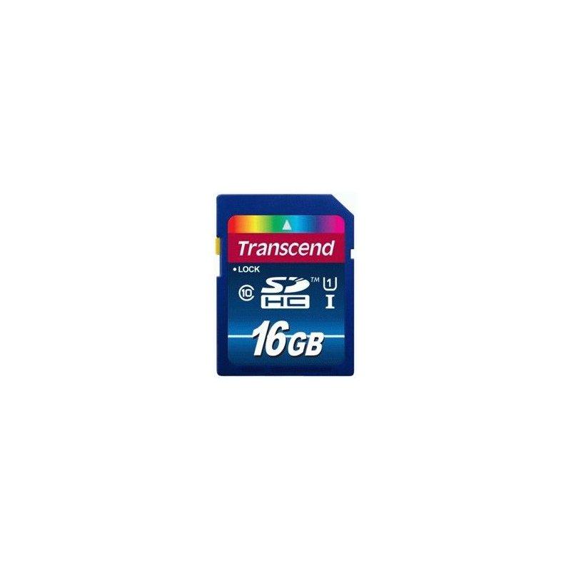 Карта памяти Transcend SDHC 16 GB Class 10 UHS-I Premium (X300)