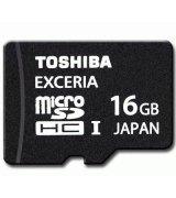 Карта памяти TOSHIBA microSDHC 16 GB Class 10 UHS-I EXCERIA