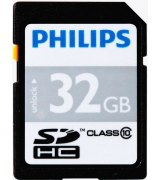Карта памяти Philips SDHC 32 GB Class 10