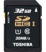 Карта памяти TOSHIBA SDHC 32 GB Class 10 UHS-I