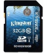 Карта памяти Kingston SDHC 32 GB G3 CLASS 10 UHS-I Elite