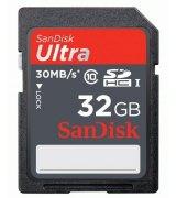 Карта памяти Sandisk SDHC Ultra 32 GB Class 10
