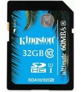 Карта памяти Kingston SDHC 32 GB Class 10 UHS-I Ultimate