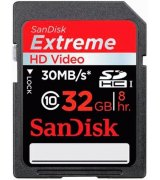 Карта памяти Sandisk SDHC 32 GB Video Extreme
