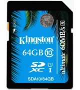 Карта памяти Kingston SDXC 64 GB Class 10 UHS-I Ultimate