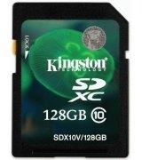 Карта памяти Kingston SDXC 128 GB Class 10