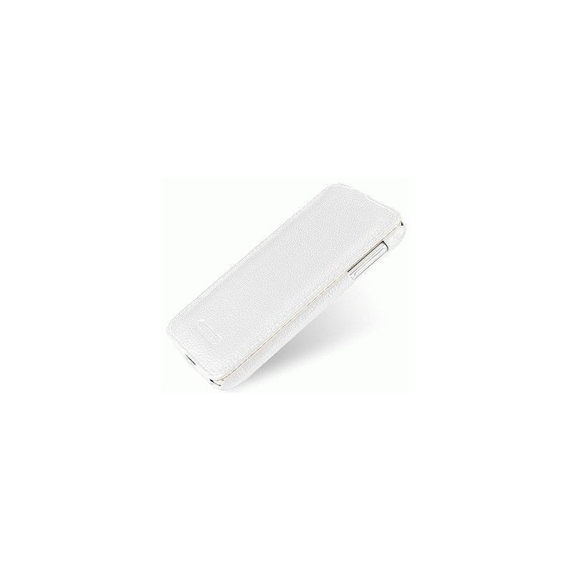 Кожаный чехол Tetded Flip для Lenovo A850 White