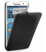 Кожаный чехол Tetded Flip для Lenovo A850 Black