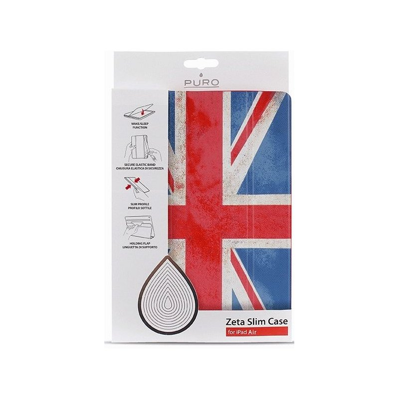Чехол Puro для iPad Air Flag Zeta Slim IPAD5ZETASUK