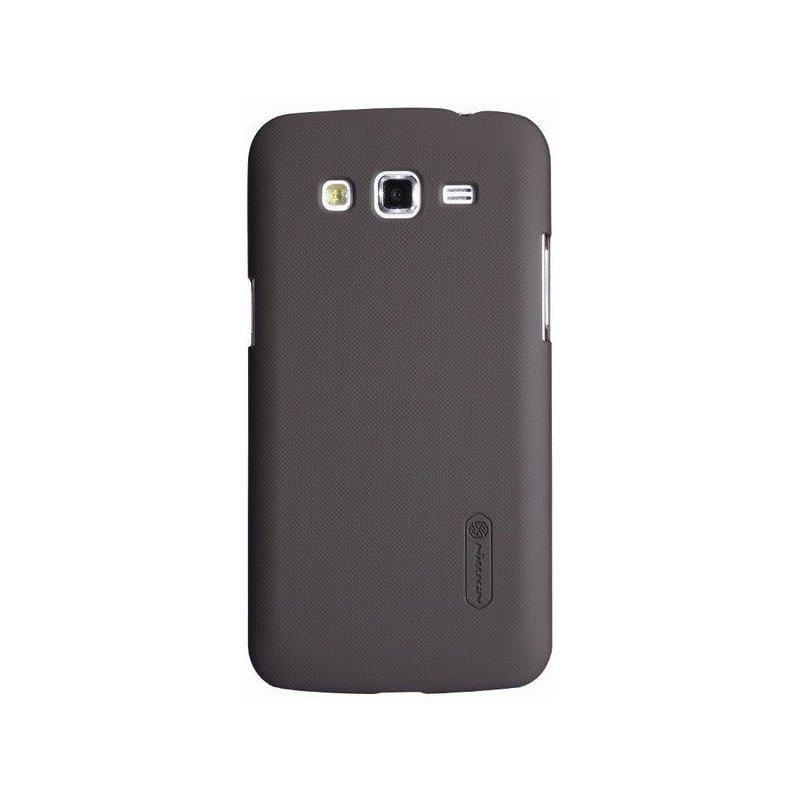 Пластиковая накладка Nillkin Super Frosted Shield для Samsung Galaxy Grand 2 Duos G7102 Brown