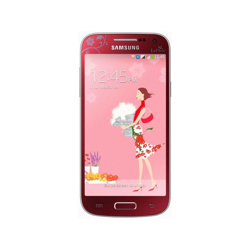 Samsung Galaxy S4 Mini Duos I9192 Red La Fleur