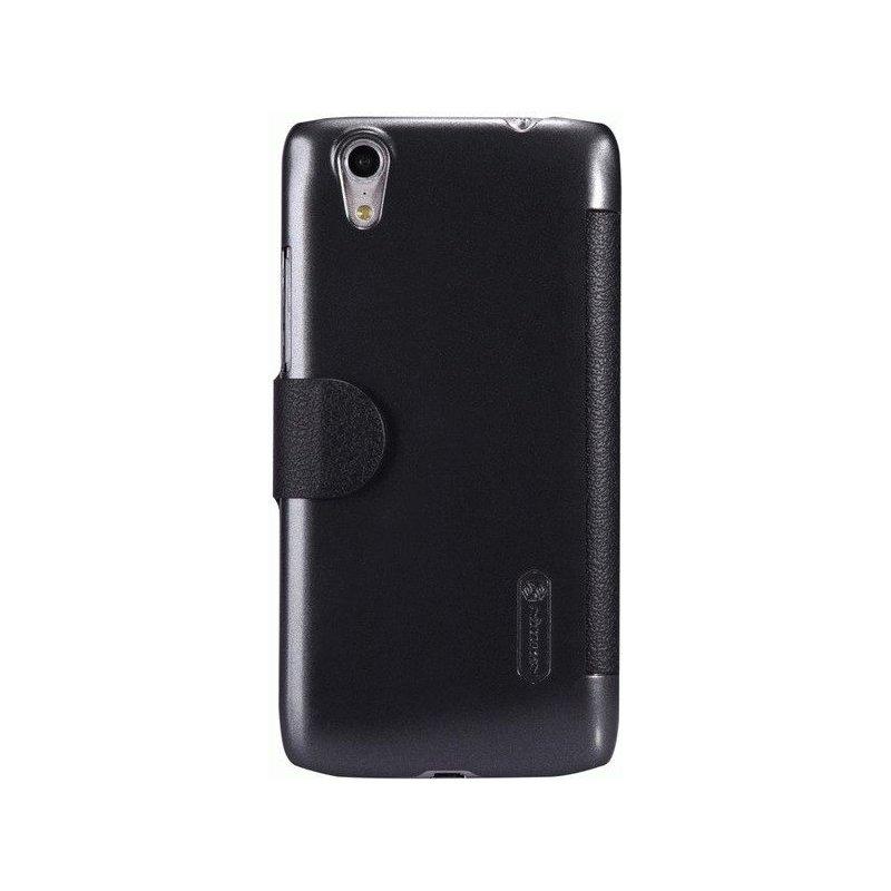 Кожаный чехол Nillkin Fresh Leather Case для Lenovo S960 Black