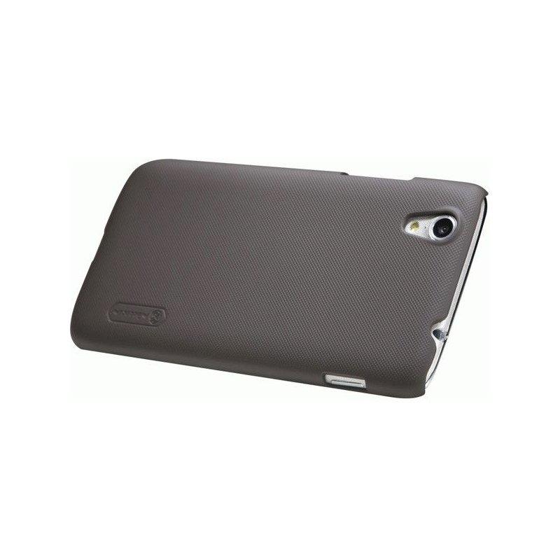 Пластиковая накладка Nillkin Super Frosted Shield для Lenovo S960 Brown