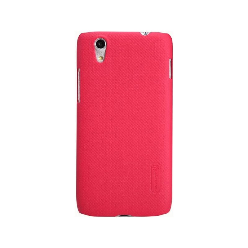 Пластиковая накладка Nillkin Super Frosted Shield для Lenovo S960 Red