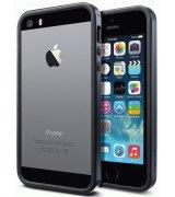 Бампер для iPhone 5 SGP Case Neo Hybrid EX Slim Metal Slate (SGP10037)