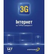 "Стартовый пакет ""3G Интернет"" Micro Ruim"
