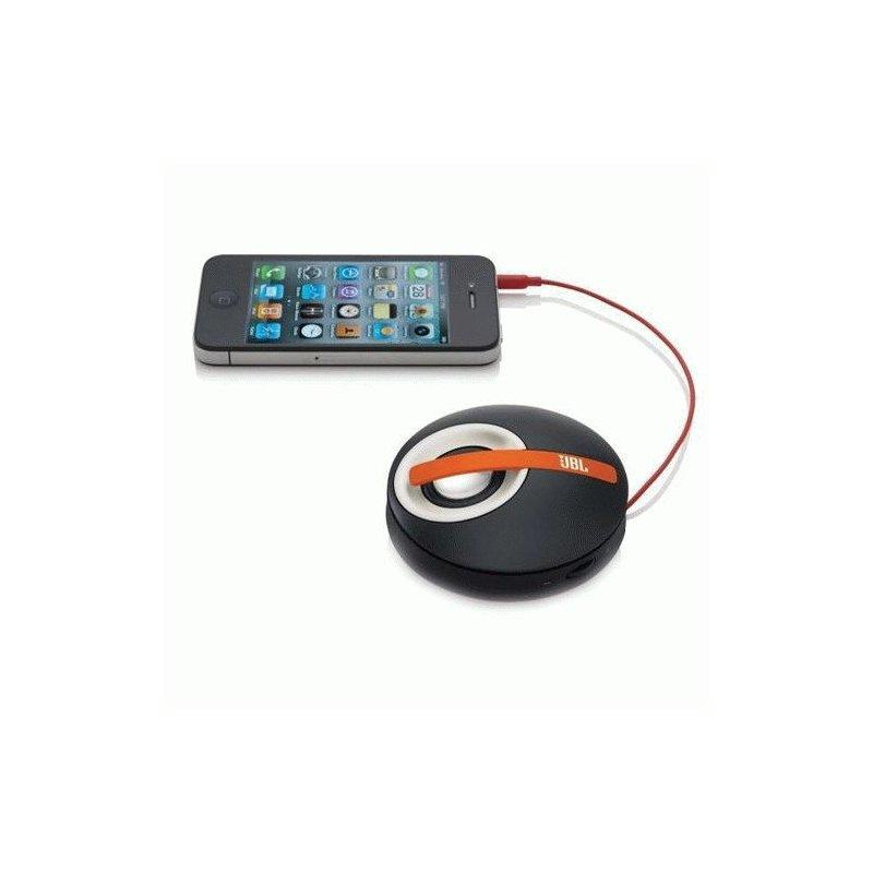 JBL On Tour Micro Black/Orange for iPhone/iPod (JBLOTMICROORN)