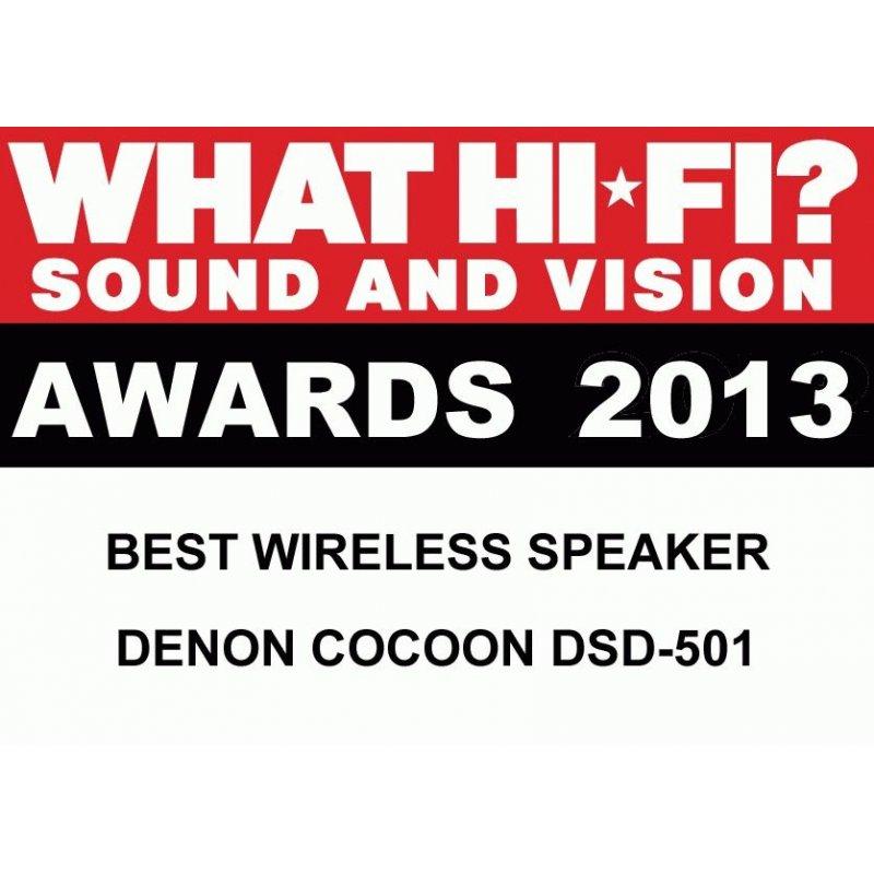 Акустическая система Denon Cocoon Stream DSD-501 Black