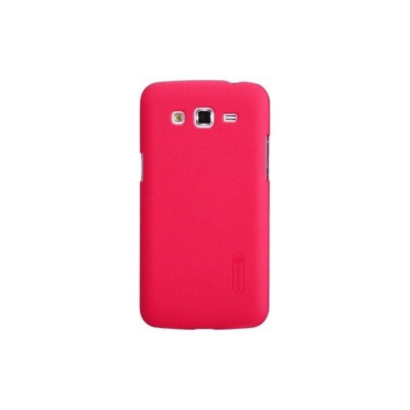 Пластиковая накладка Nillkin Matte для Samsung Galaxy Grand 2 Duos G7102 Red