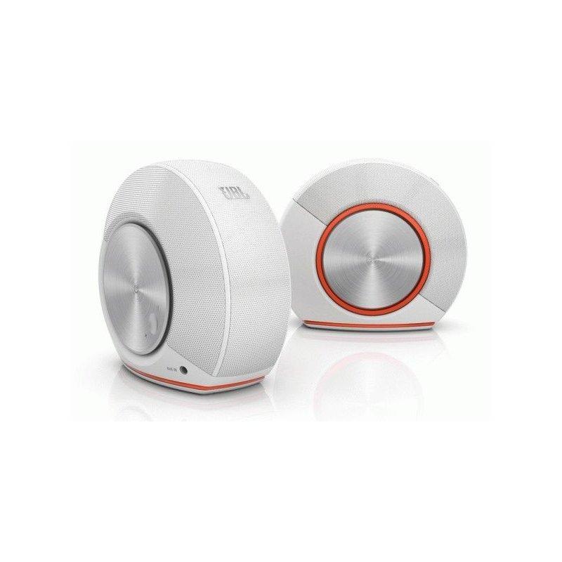 JBL Computer Speakers Pebbles White (JBLPEBBLESWHTEU)