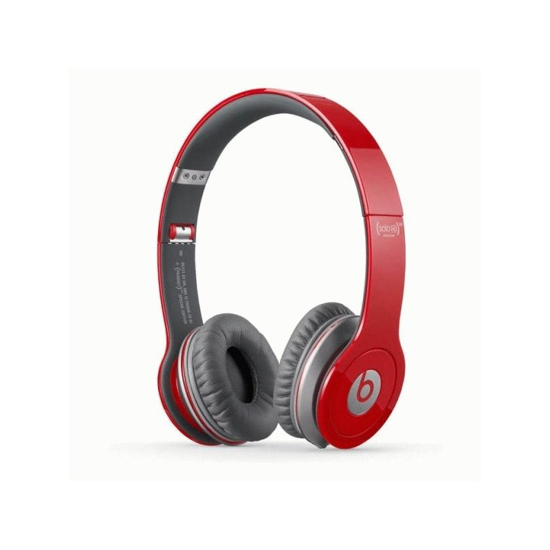 Beats by Dr. Dre Solo High Definition with ControlTalk Red (BTS-900-00013-03)