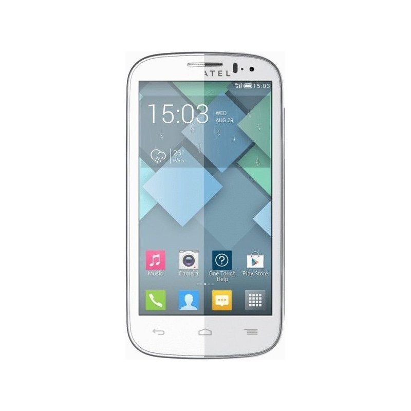 Alcatel One Touch 5036D Dual SIM Full White