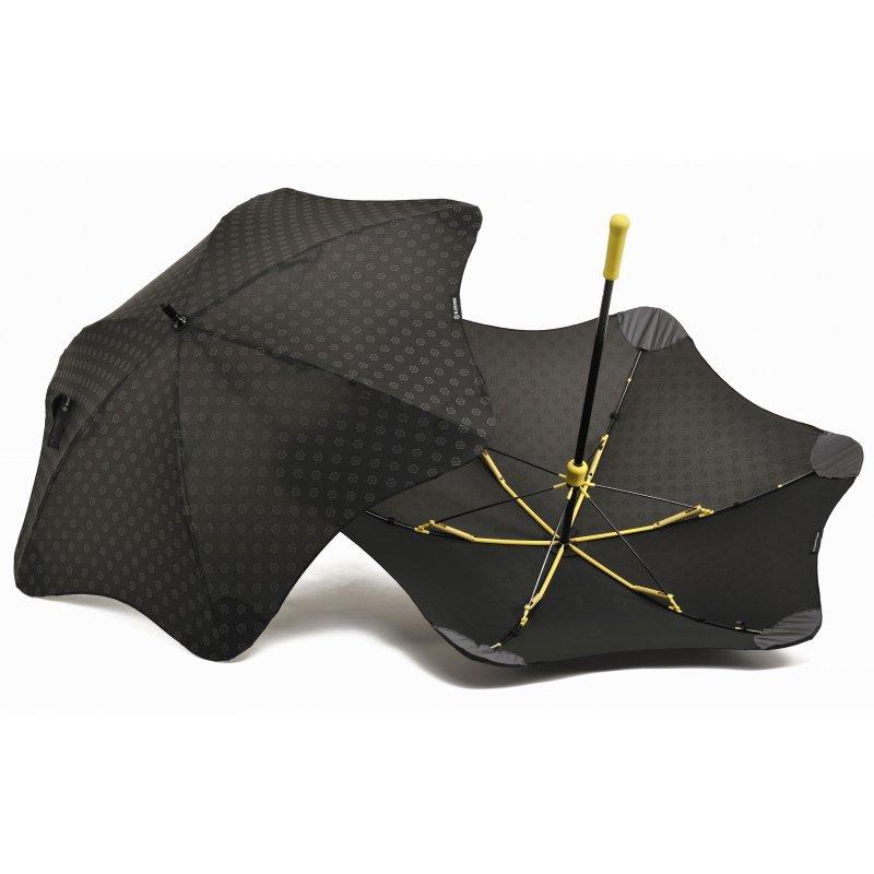 Зонт Blunt Mini+ Black/Yellow (черный-жёлтый)